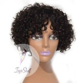 Brazilian Short Curly Hair Wig Women Natural Human Total Beauty Shop Brazilian Hair Malaysian Hair Indian Hair Peruvian Lots More Hair